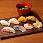 ランチメニュー寿司